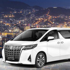 silver car in japan