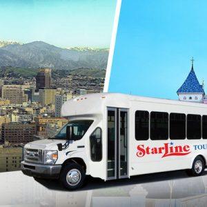 Starline transfer between Disneyland Park and Los Angeles