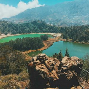 Color Lake in Indonesia