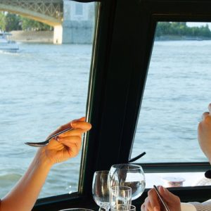 lunch and cruise on danube river