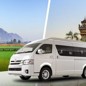 Shared City Transfers between Vientiane and Vang Vieng