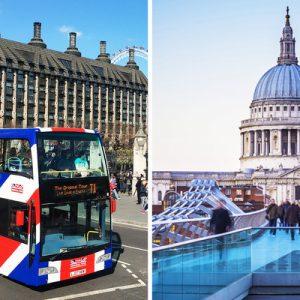 london hop on hop off bus tour