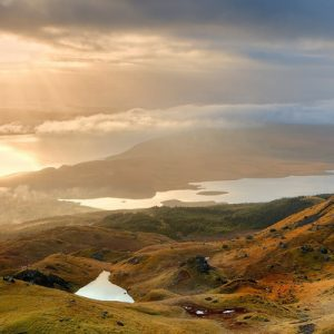 old mann of storr view