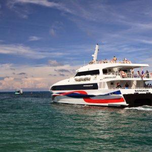 Catamaran Ferry Ticket (Koh Pha Ngan/Tapee Pier Departure)