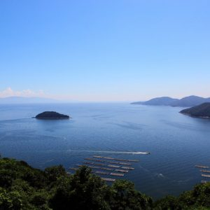 ogjima artwork at setouchi triennale