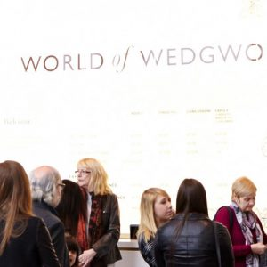 people inside the World of Wedgwood