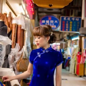 One Day Traditional Qipao Rental in Tainan