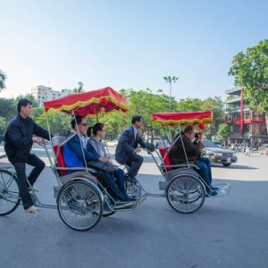 Hanoi Street Food Walking Tour with Cyclo Ride