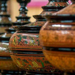 lacquerware workshop bagan