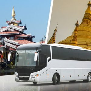 VIP Bus Ticket (One Way) between Inle Lake and Yangon
