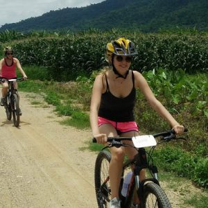 Amazing Chiang Rai Countryside and White Temple Cycling Tour