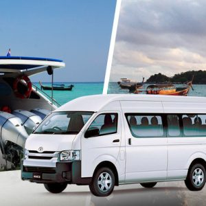 Shared City Transfers between Hat Yai and Koh Lipe