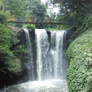 omas maribaya waterfall in bandung
