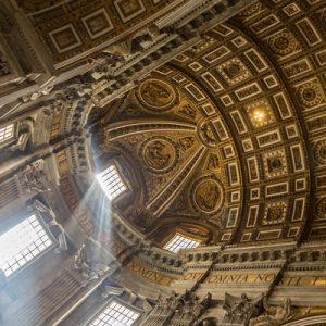 inside sistine chapel