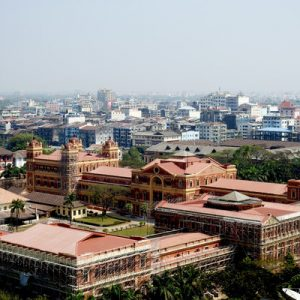 Colonial Yangon Sightseeing Private Half Day Tour