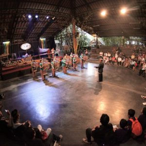 Bandung Geology Museum Angklung Performance Tour