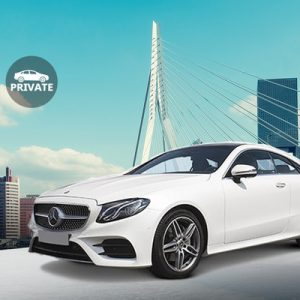 exclusive mercedes benz e-class private rotterdam the hague airport transfer