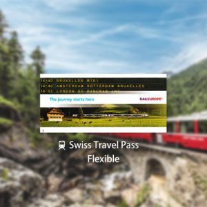 Swiss Travel Pass (Flexible 3, 4, 8 or 15 Days)