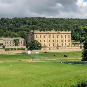 a view of the Chatsworth House