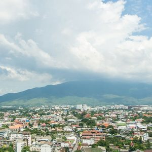 view of chiang mai, thailand
