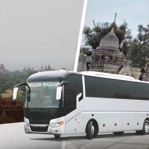 Bus Ticket (One Way) between Bagan and Mandalay