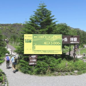 Tateshina, Kirigamine Highland, and Shirakabako Hop-On Hop-Off Bus Pass