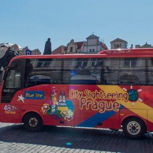 prague sightseeing bus