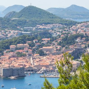 a view of Dubrovnik