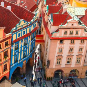 colorful structures in prague
