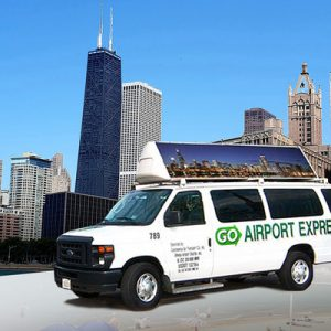 chicago airport transfers go airport shuttle
