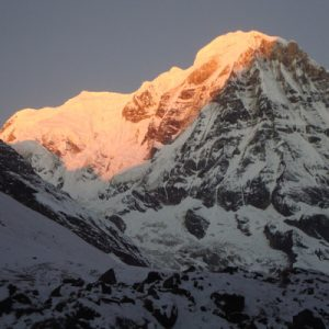 scenery on the annapurna base camp trek