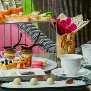 High Tea at the Lobby Lounge Shangri-La Hotel in Chiang Mai