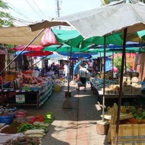 luang prabang market morning tour