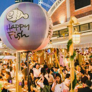 Happy Fish at Asiatique