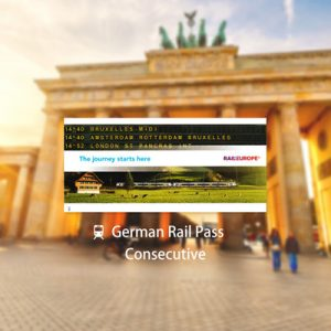 German Rail Pass (Consecutive)