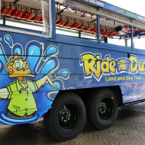 ride the ducks sightseeing tour guam