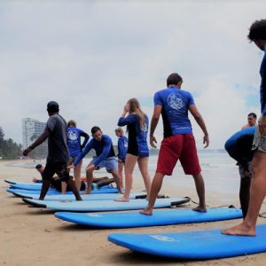 韦利格默冲浪课程