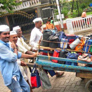孟买达巴瓦拉(Dabbawalas)