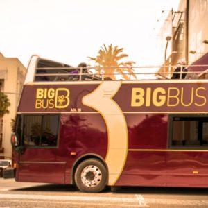 洛杉矶Big Bus随上随下观光巴士(敞篷)