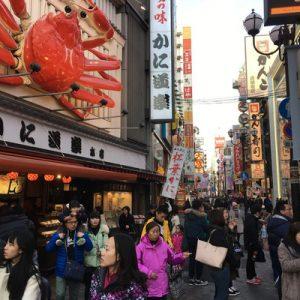 大阪黑门市场,道顿堀徒步游,寿司制作体验
