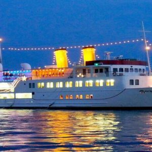 广岛湾晚餐周游观光船