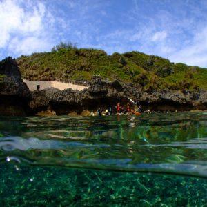 冲绳本岛北部潜水体验
