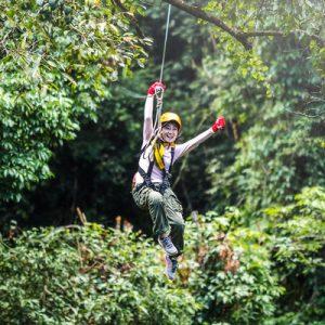 西贡丛林飞索之旅