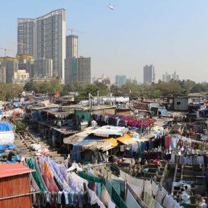 孟买达拉维(Dharavi Slum)半日游,孟买Dhobi Ghat 千人洗衣场半日游