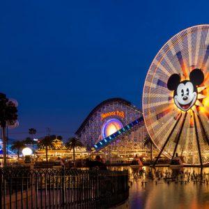 美国加州迪士尼乐园