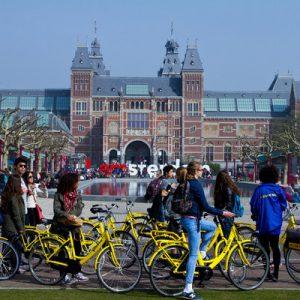 阿姆斯特丹城市单车,骑单车游阿姆斯特丹,骑脚踏车游阿姆斯特丹