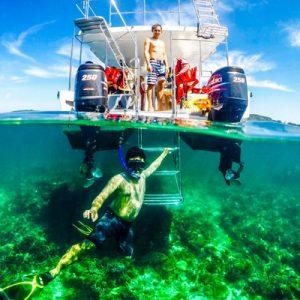 游览东姑阿都拉曼海岛公园和浮潜体验