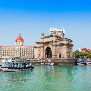 孟买游轮旅客海滨短程游