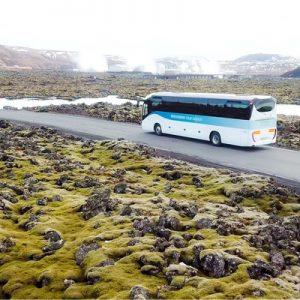 蓝色泻湖巴士