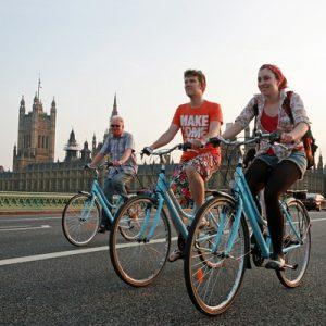 伦敦经典骑行之旅